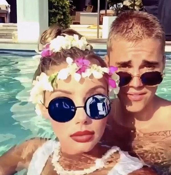 Sahara Ray e Justin Bieber