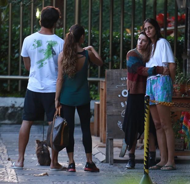 Isis Valverde e Bruna Linzmeyer