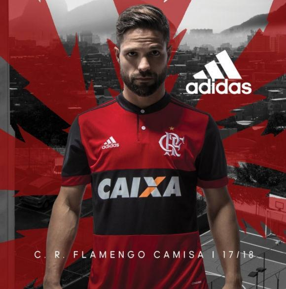 Novo uniforme do Flamengo (Crédito: Reprodução)