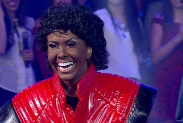 Joelma aparece transformada em Michael Jackson e divide opiniões