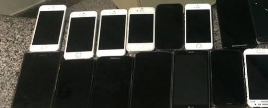 Homem é preso com mais de 40 celulares furtados em show
