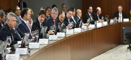 Governadores se reúnem com Temer para tratar sobre reformas