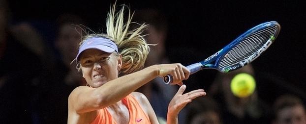 Após 15 meses suspensa, Sharapova volta a jogar tênis