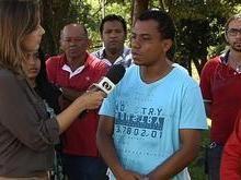 Acusado de matar esposa dá entrevista anunciando desaparecimento