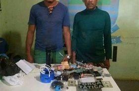 Pai e filho são presos com maconha e celulares no Piauí