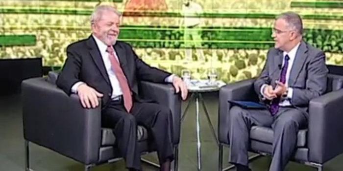 'Eu vou ter condições jurídicas de ser candidato', diz Lula no SBT