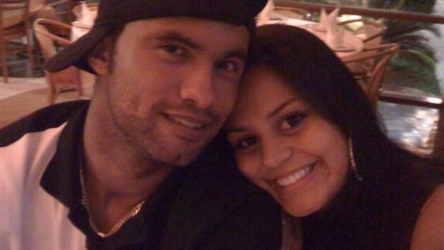 Bruno e a dentista Ingrid Calheiros