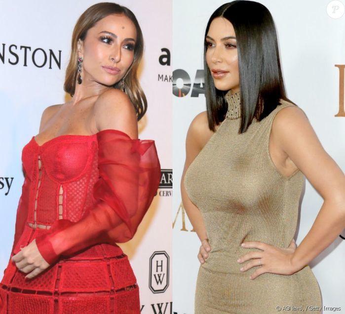 Sabrina Sato desembolsa R$ 223 mil para ter foto com Kim Kardashian