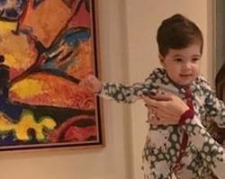 Filho de Aline Gotschalg dá show de fofura em foto postada na web