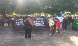 Em Santo Inácio categorias vão às ruas contra reformas do governo