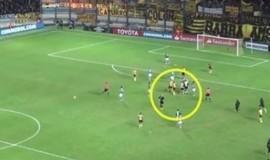 Em vídeo, Palmeiras mostra que confusão começou do Peñarol