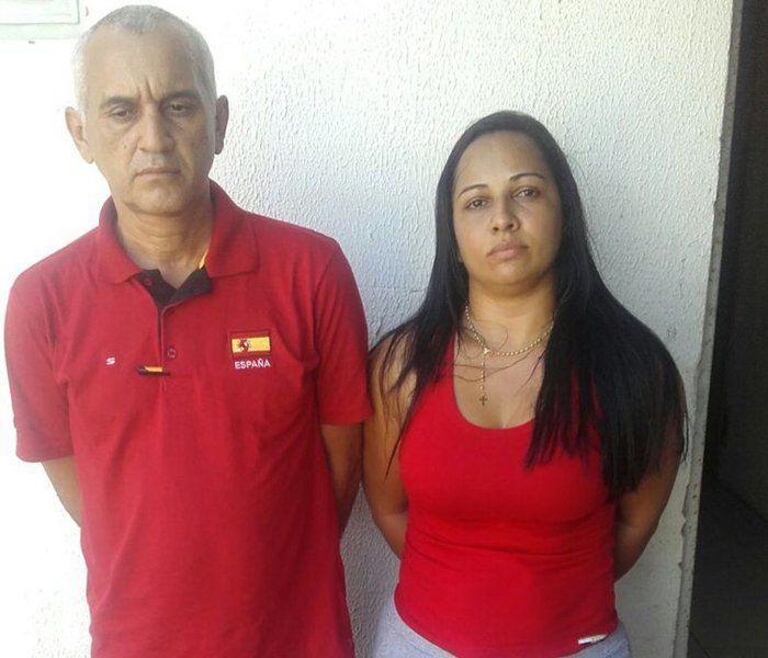 Casal é preso com 7 cartões de idosos dentro de banco no Piauí (Crédito: Divulgação)