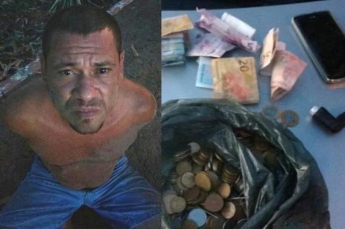 Homem é preso com carro roubado e droga na BR 343