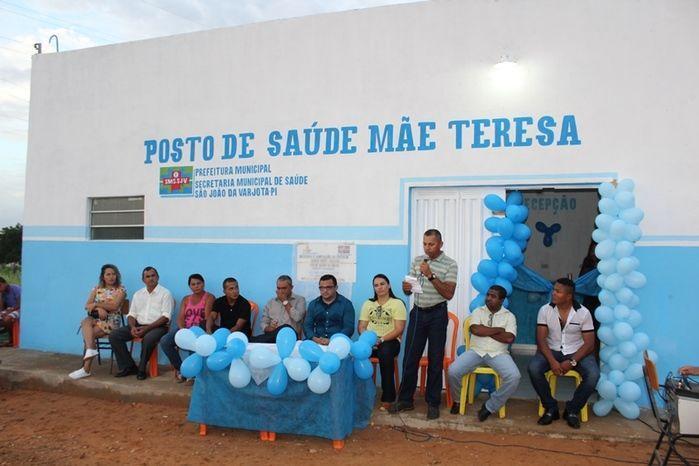 Inaugurado o Posto de Saúde Mãe Teresa da Comunidade Cepisa - Imagem 10