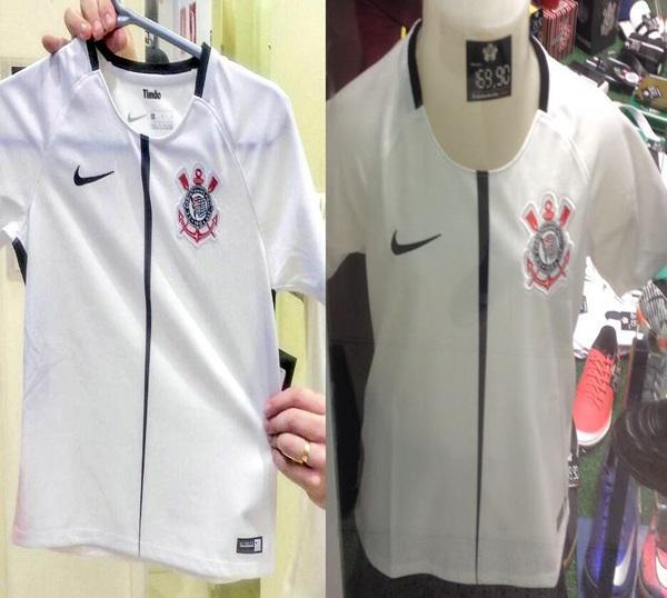 Suposto novo uniforme do Corinthians  (Crédito: Reprodução)