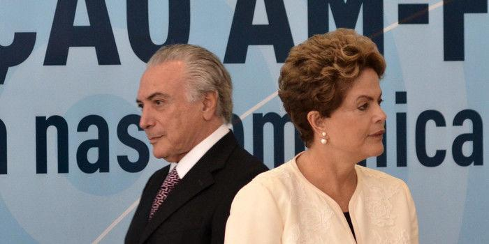 Temer e Dilma