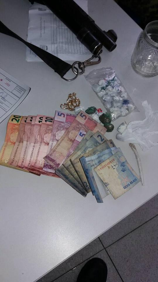 Polícia apreende menor suspeito de tráfico de drogas em Teresina