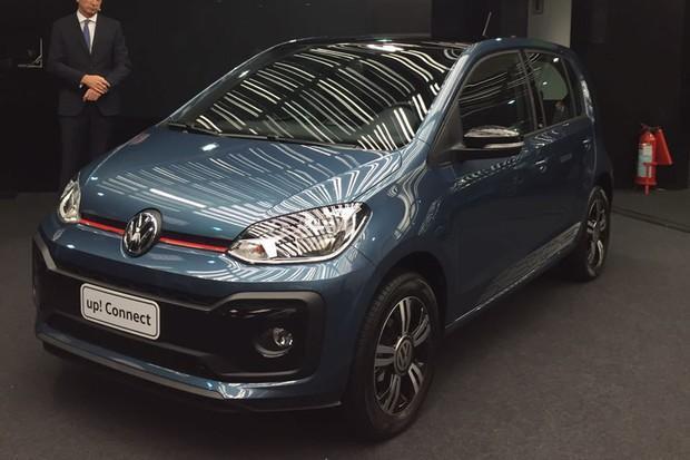 Volkswagen up! é reestilizado no Brasil