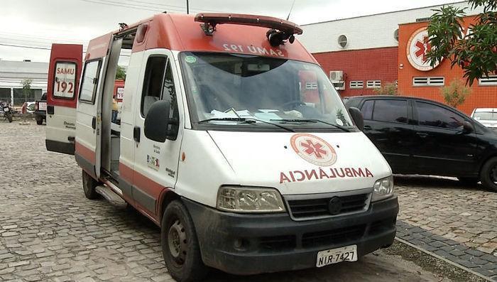 Somente três ambulâncias estão atendendo a demanda da capital (Crédito: Reprodução)