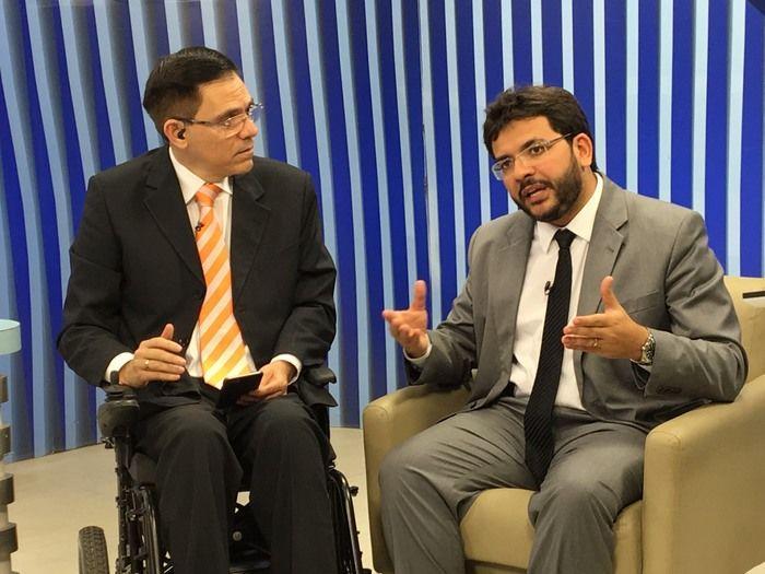 Rafael Fonteles fala sobre corte de despesas (Crédito: Mikaelly Menezes)