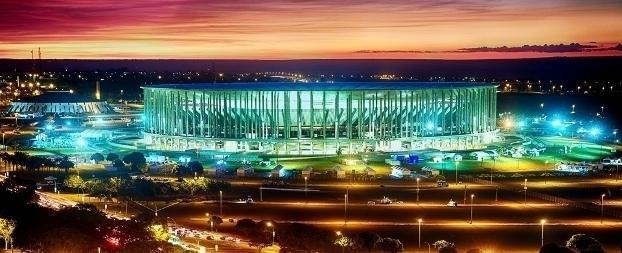 Em estádio mais caro da Copa de 2014, aluguel para jogo custa R$ 39