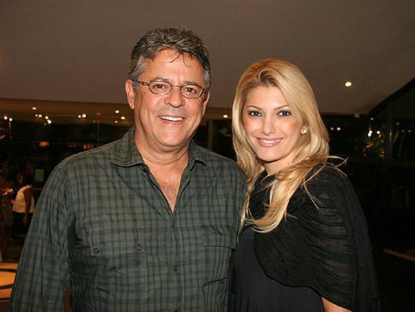 "Antônia Fontenelle posta foto com Marcos Paulo: ""Saudade"""
