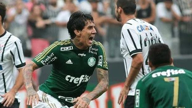 Victor Ramos pelo Palmeiras, em 2015 (Crédito: Reprodução)