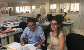 Marcos Elvas assina convênio para cobertura de quadra poliesportiva