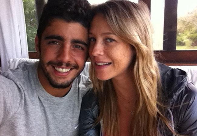 Luana Piovani e marido