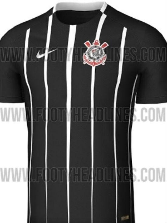 Provável camisa do Corinthians (Crédito: Reprodução)