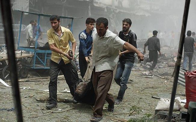 Segundo o OSDH, desde o dia 1º de março morreram cerca de 220 civis na Síria; coalizão internacional combate o EI (Crédito: Reprodução)