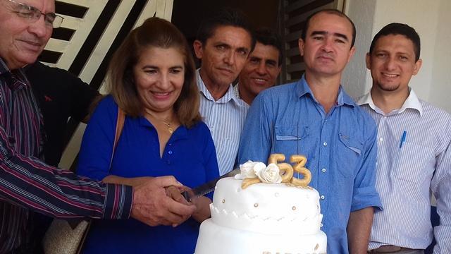 Dom Expedito Lopes comemorou os 53 anos de emancipação. - Imagem 329