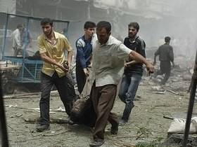 Bombardeio em área controlada pelo EI deixa mortos na Síria
