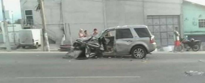 Filho de deputado perde braço em acidente de trânsito no Rio