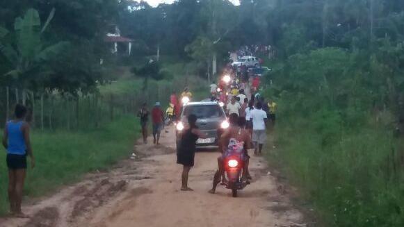 Os indígenas já haviam decidido se retirar de uma área tradicional retomada no Maranhão