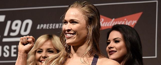 Técnico aposta em aposentadoria de Ronda: 'Ela não quer voltar'