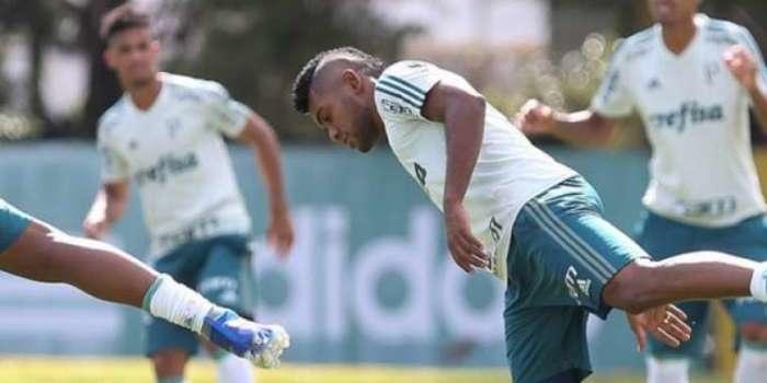 Técnico do Palmeiras diz que Borja é um diamante a ser lapidado
