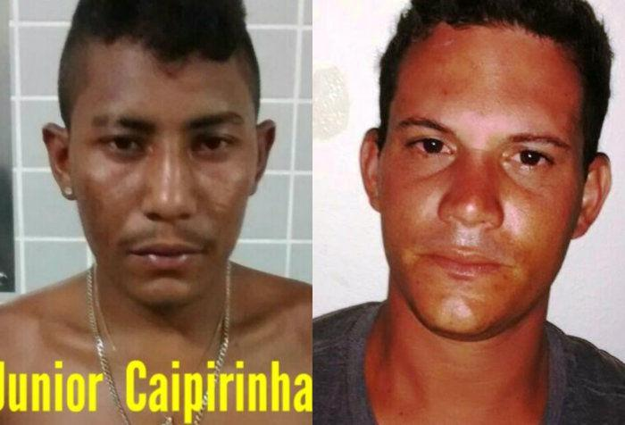 Eduardo Pereira da Silva, de 29 anos, conhecido como Caipirinha, e Janiel Almeida (Crédito: Divulgação)