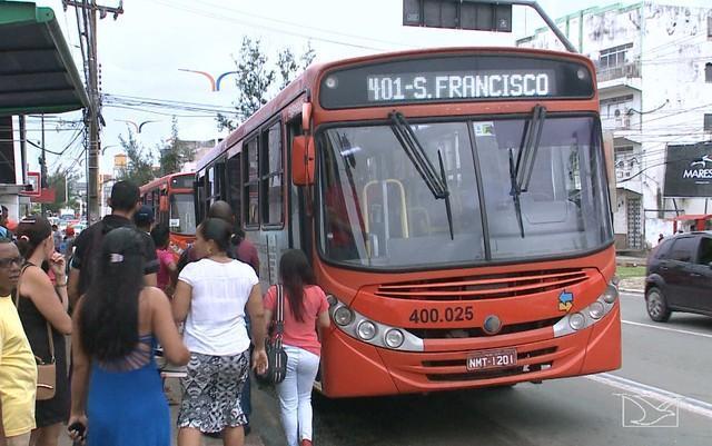 Em 2017,  225 assaltos à ônibus foram registrados em São Luís (Crédito: Reprodução)