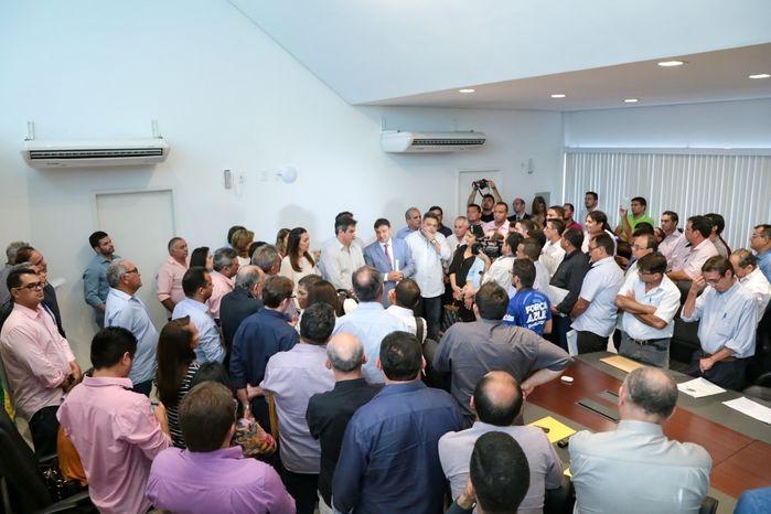 Audiência com o governador Wellington Dias (Crédito: Divulgação)