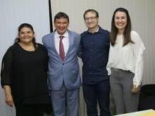 Prefeito participa de audiência com o governador Wellington Dias