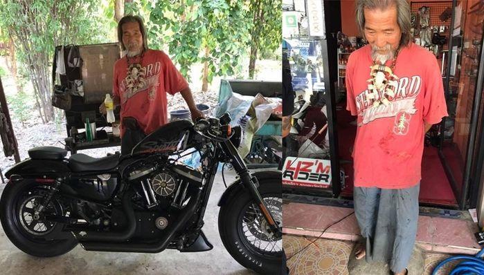 Homem mal vestido é ignorado por vendedores e compra moto de luxo