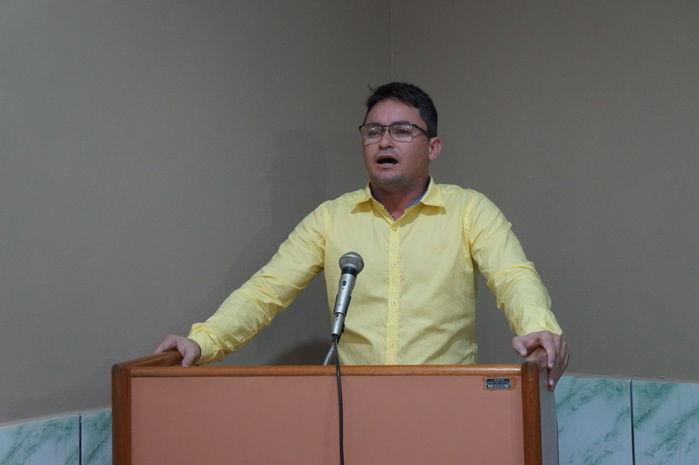 Secretário Municipal de Agricultura (Crédito: Francisco Anjos)