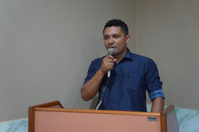 Vereador Zé Filho do Estreito (Crédito: Francisco Anjos)