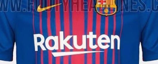 Nova camisa do Barcelona para próxima temporada vaza em site