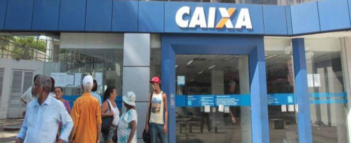 Agências da Caixa abrem hoje para saques das contas inativas