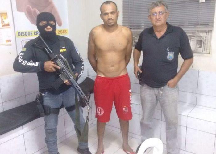 Polícia prende foragido da Major César acusado por furto e tráfico