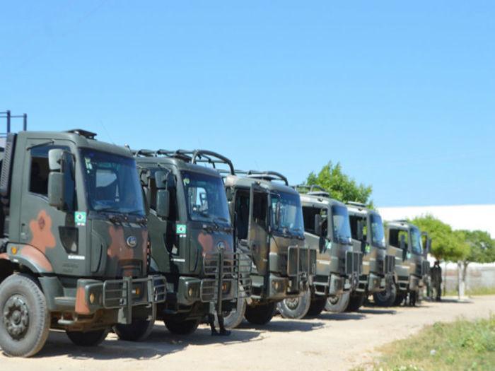 Comboio do Exército substituirá pipeiros na cidade de Jaicós  (Crédito: Portalsaibamais)