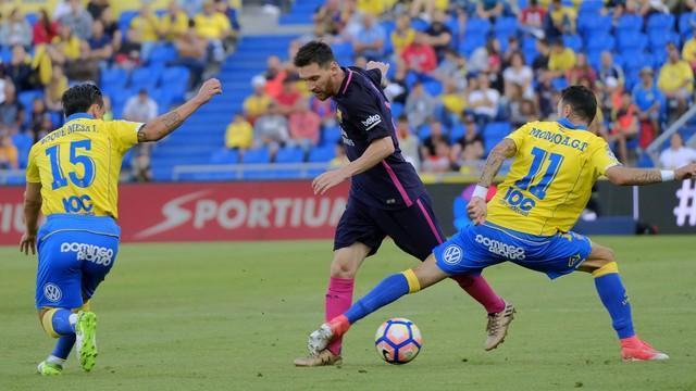 Com três de Neymar, Barça vence Las Palmas por 2 x 0