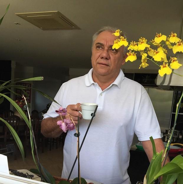 """Marcelo Rezende revela que está com Câncer: """"Não estou com medo"""""""